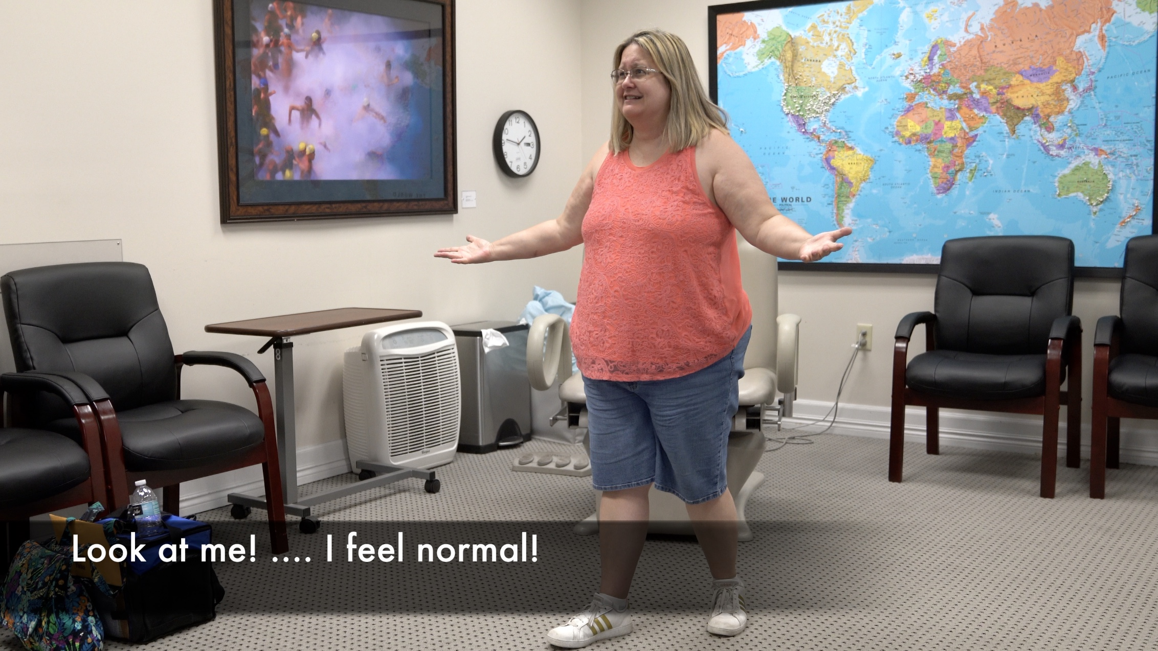 """""""I feel normal for the first time in 11 years"""" minutes following a single treatment by Dr. Tobinick."""