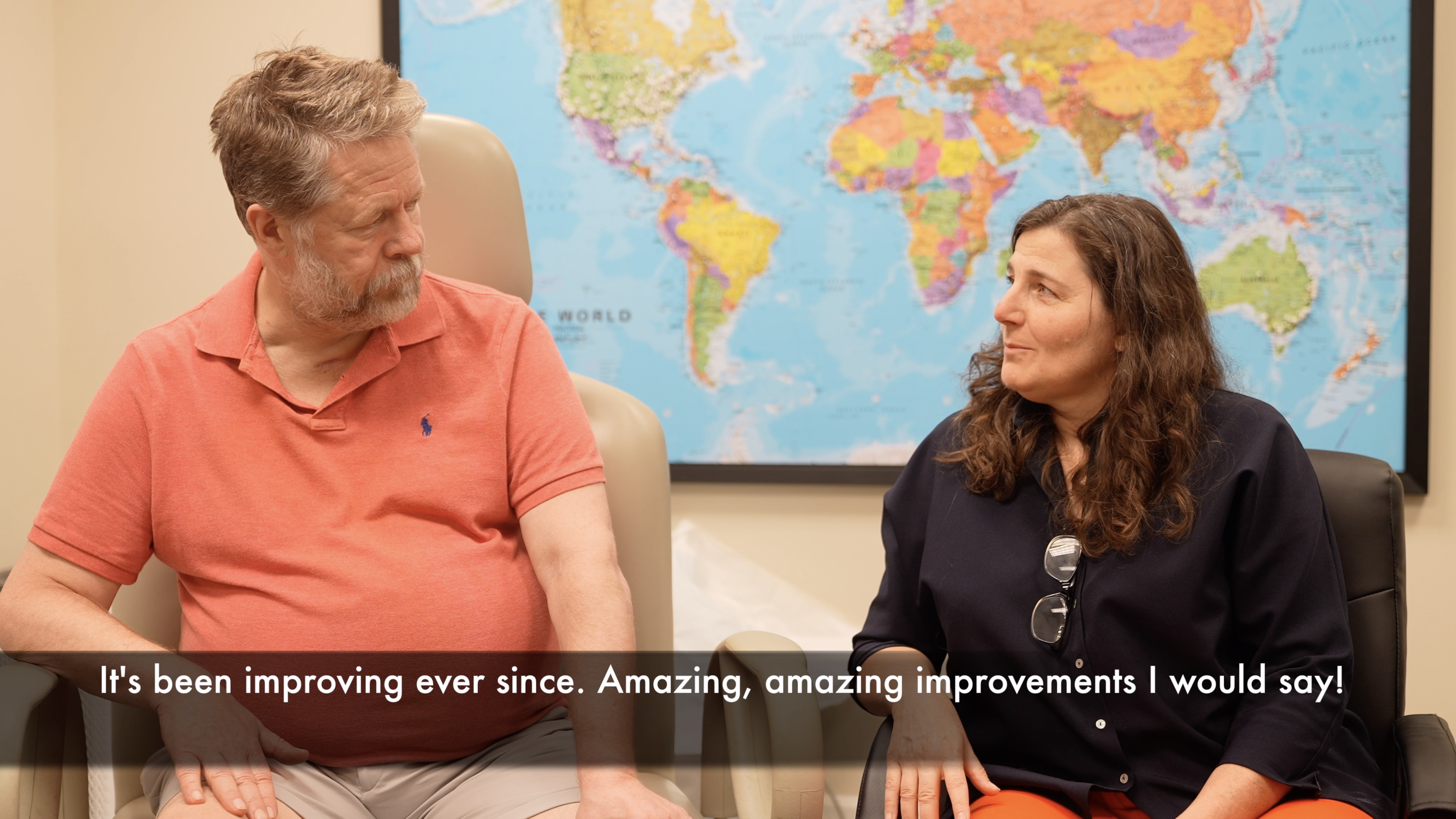 Swedish stroke survivor regains ability to walk and becomes pain-free following treatment by Edward Tobinick, M.D.